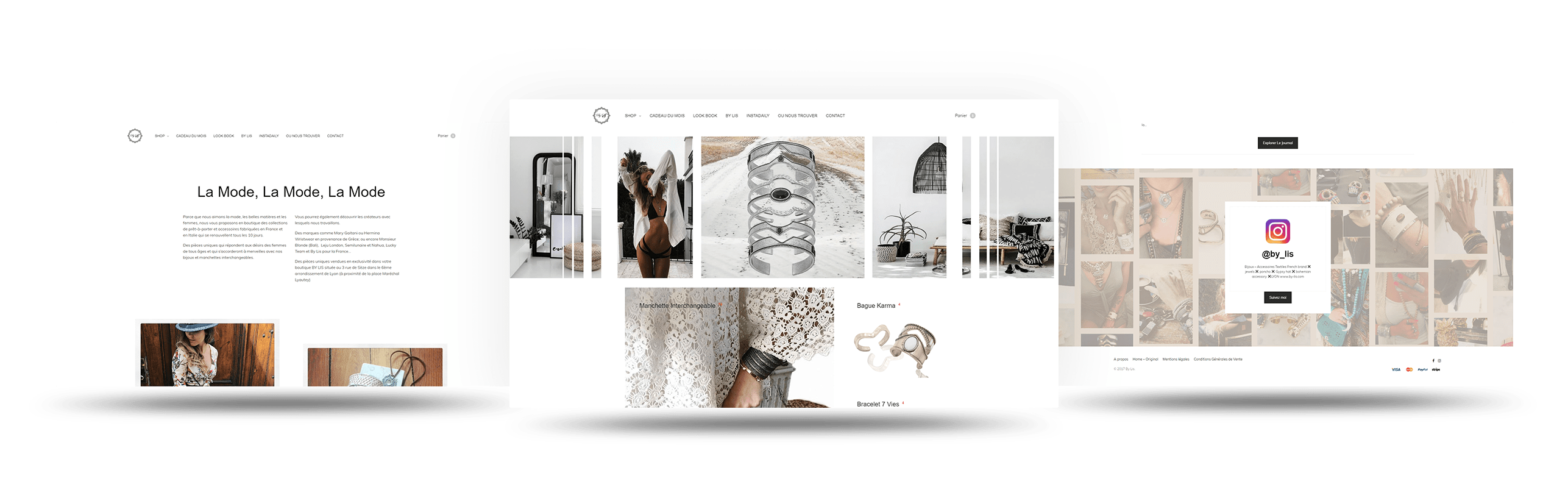 bylis interface wordpress agence web design developpement application mobile