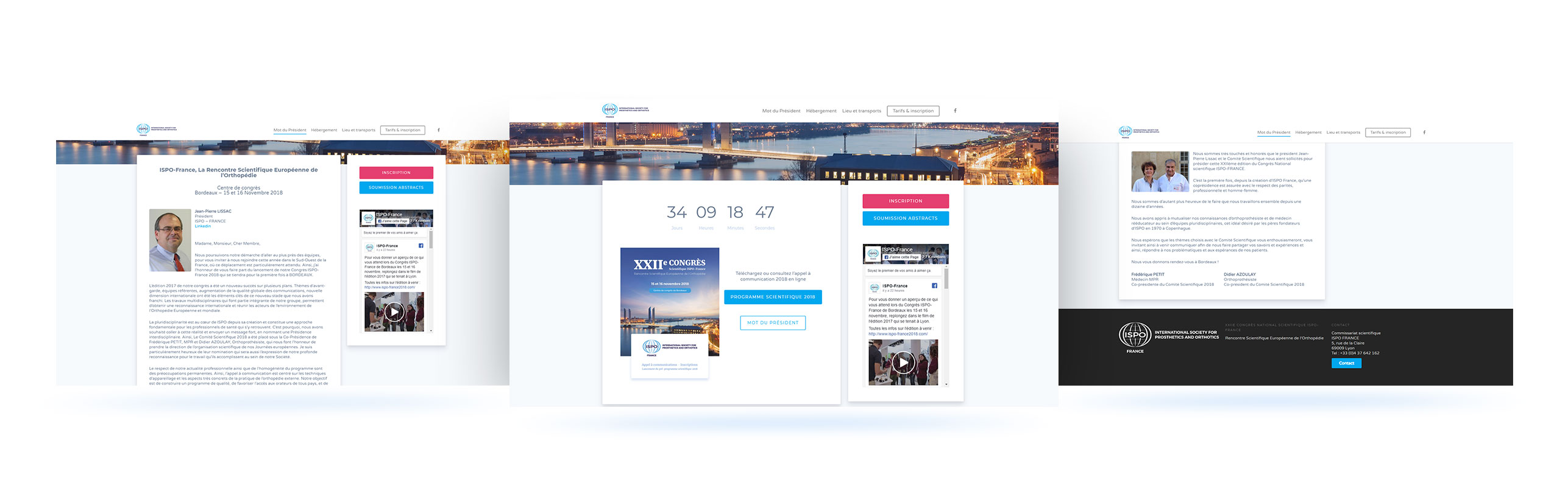 congres ispo 2018 page client site wordpress lyon agence responsible application webdesin graphisme illustration boutique ecommerce