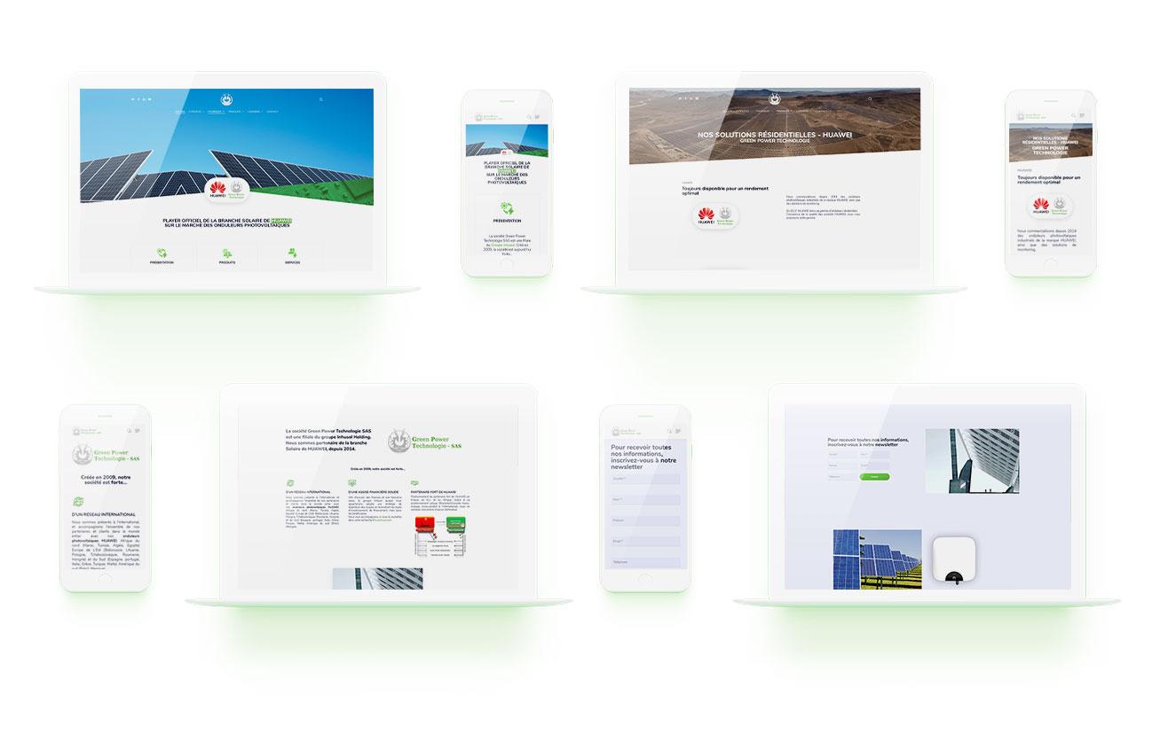 interface aerolight wordpress responsive adaptatif agence web design lyon graphisme developpement site internet application mobile graphisme logo illustration boutique en ligne ecommerce