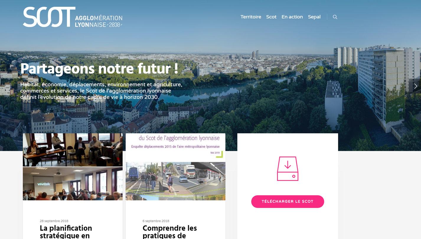 agglolyon interface site wordpress agence web design developpement application mobile graphisme illustration logo lyon