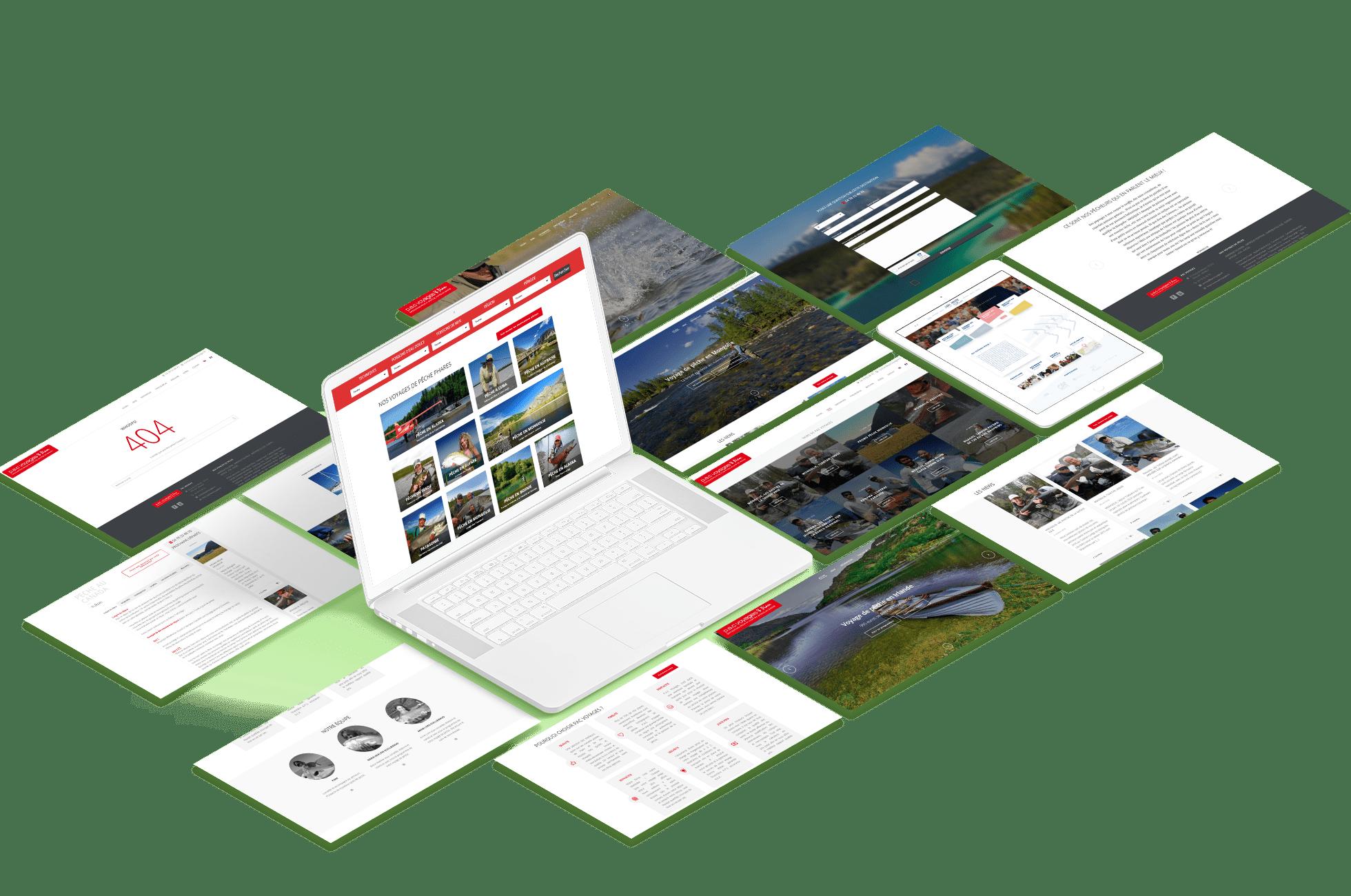 isometrics PAC agence web design site wordpress boutique commerce ecommerce graphisme logo icones